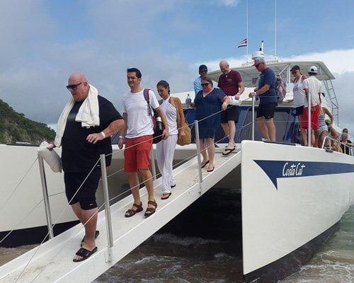 Tortuga Island Catamaran Tour