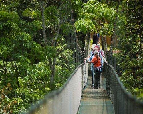 Hanging Bridges and Baldi Hotsprings