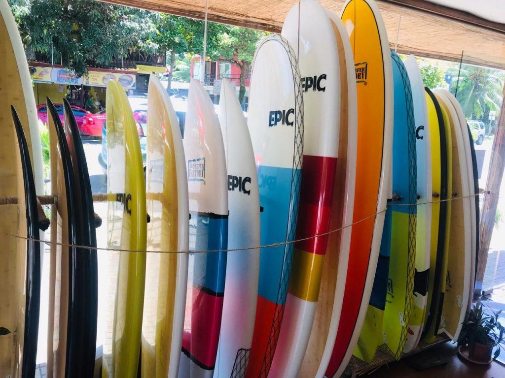 Jaco Beach Board rentals